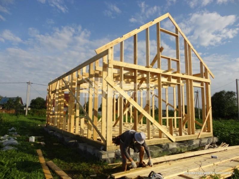 Построить загородный дом своими руками